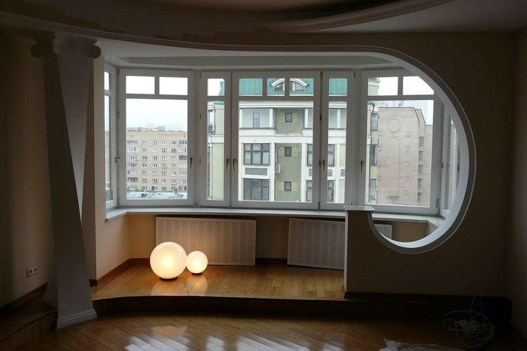 Оформление разрешения для объединения балкона