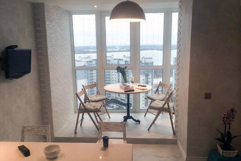 Порядок объединения балкона с комнатой/кухней